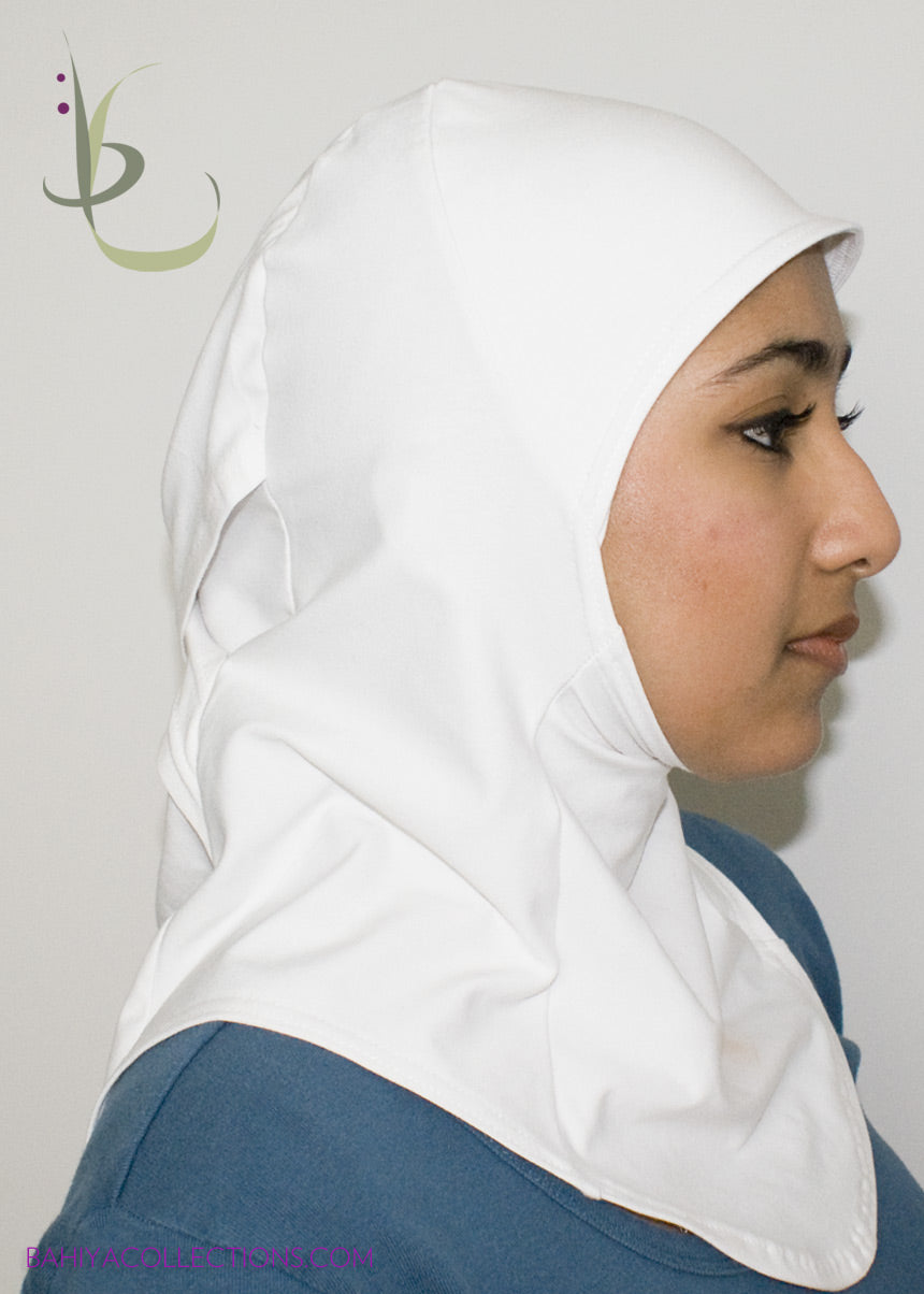 Athletica White Sports Hijab