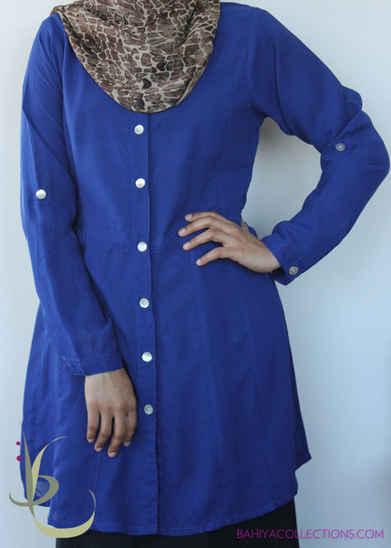 Iris Paneled Long Tunic