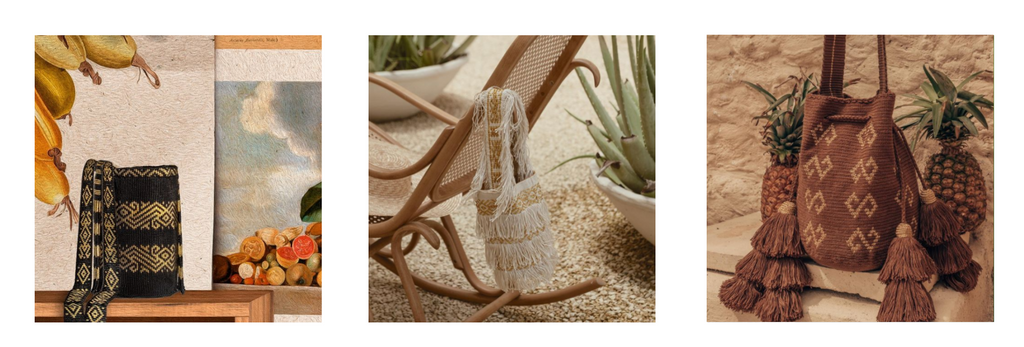 Najash products are inspired by Colombian fauna and culture.