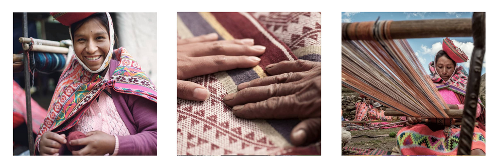 Non-profit organization Threads of Peru helps weavers of the Andean culture.