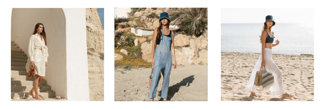 Styling made with Atelier Handmade to go with the beach look