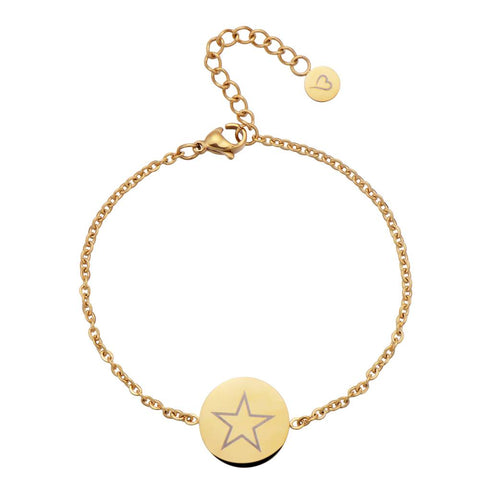 Fashionthings Shining Star Armbandje Goud