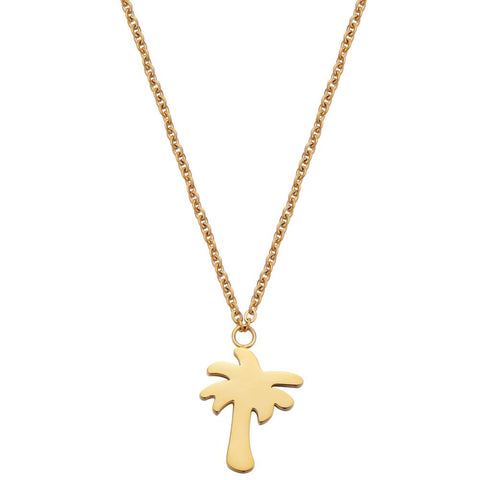 Fashionthings Find Me Under The Palms Ketting Goud