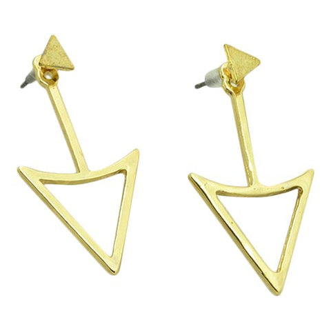 Styledeals Triangle double side goud