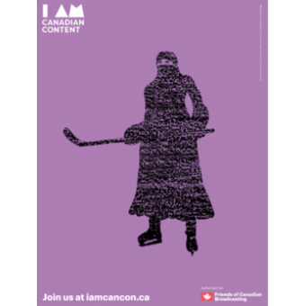 I Am CanCon Poster 18x24