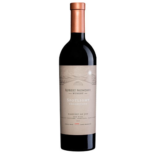 A bottle of 2016 Robert Mondavi Winery HOJ To Kalon Vineyard Red Wine Napa Valley on a white background.