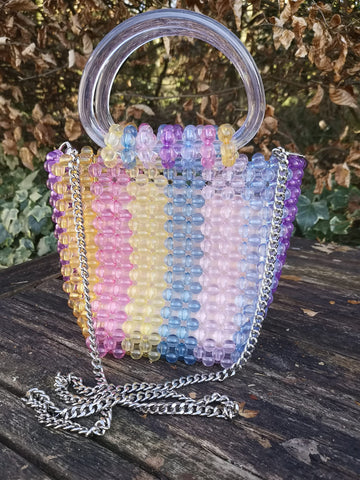 Beaded Tophandle Bag
