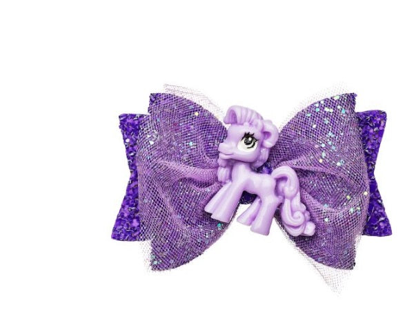 Purple Unicorn Clip