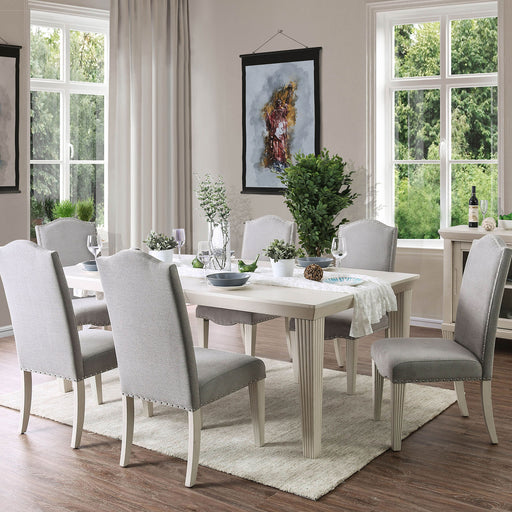 Daniella Antique White Dining Table image