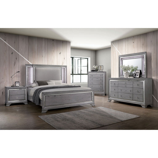 Alanis Light Gray 4 Pc. Queen Bedroom Set image