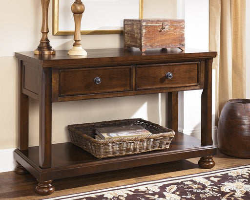 Porter Signature Design by Ashley Sofa Table image