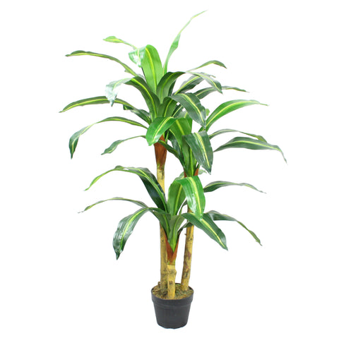 Artificial Dracaena Tree 4 ft