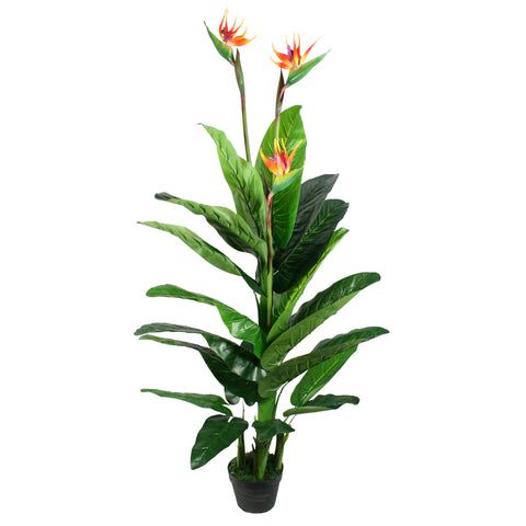 Artificial Birds of Paradise Plant 5 ft
