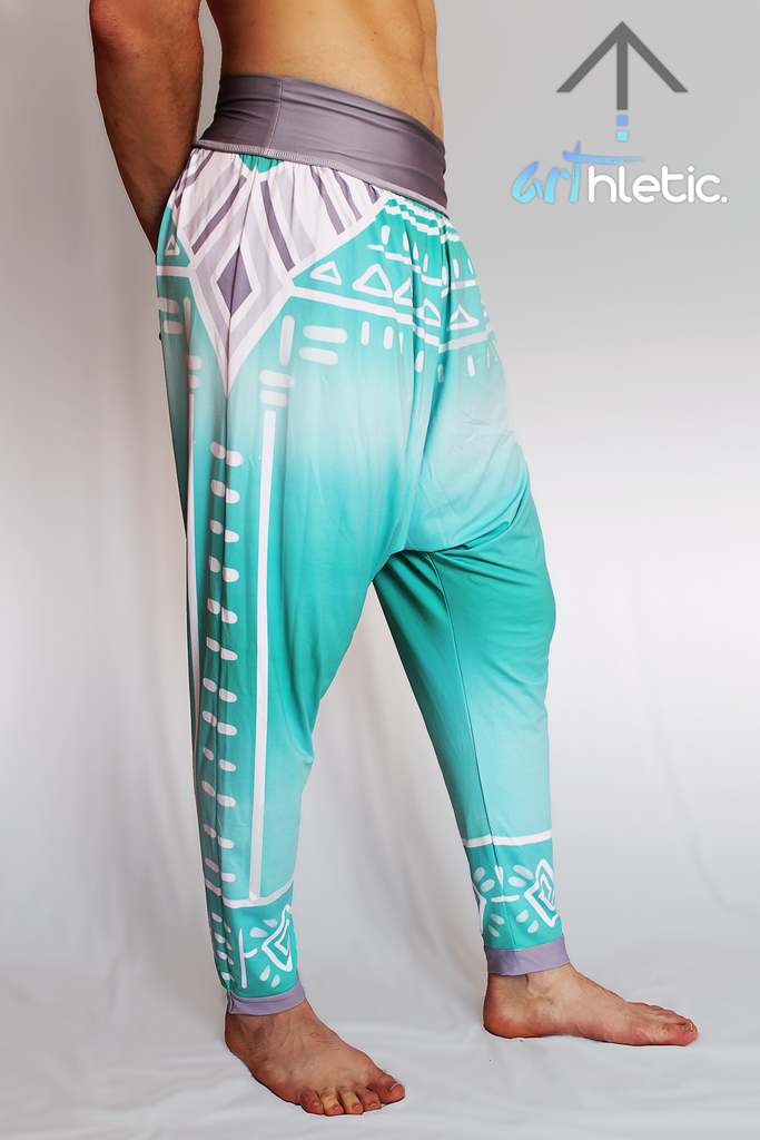 Boho Spirit Men's Harem Pants - Arthletic Wear - 3