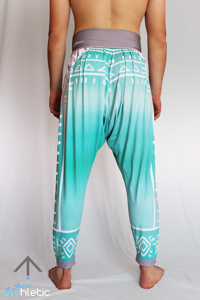 Boho Spirit Men's Harem Pants - Arthletic Wear - 2