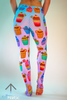 Cupcakes Leggings - Arthletic Wear - 4