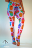 Cupcakes Leggings - Arthletic Wear - 6