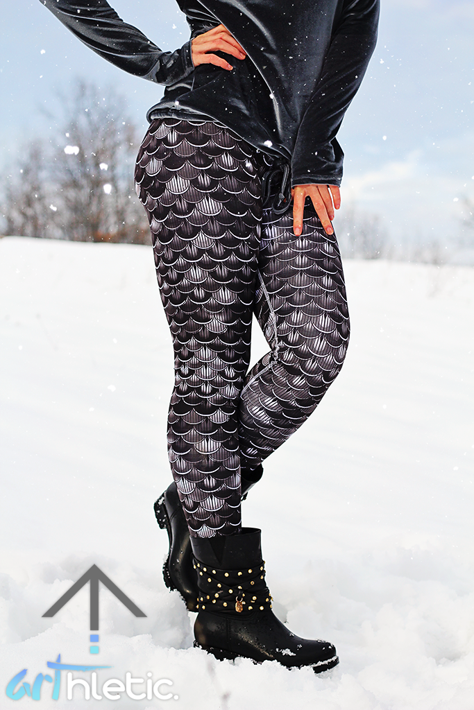 Black Agama leggings - Arthletic Wear - 1