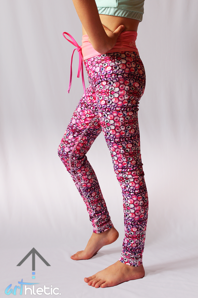 Pink Dream mini leggings - Arthletic Wear - 1