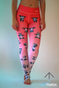 Pink panda leggings - Arthletic Wear - 6