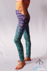 Mermaid Mini Leggings - Arthletic Wear - 2