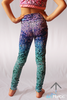Mermaid Mini Leggings - Arthletic Wear - 1