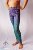 Mermaid Mini Leggings - Arthletic Wear - 3