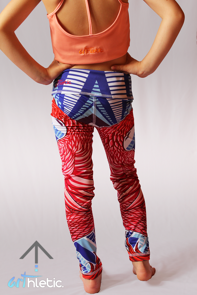 Phoenix Mini Leggings - Arthletic Wear - 3