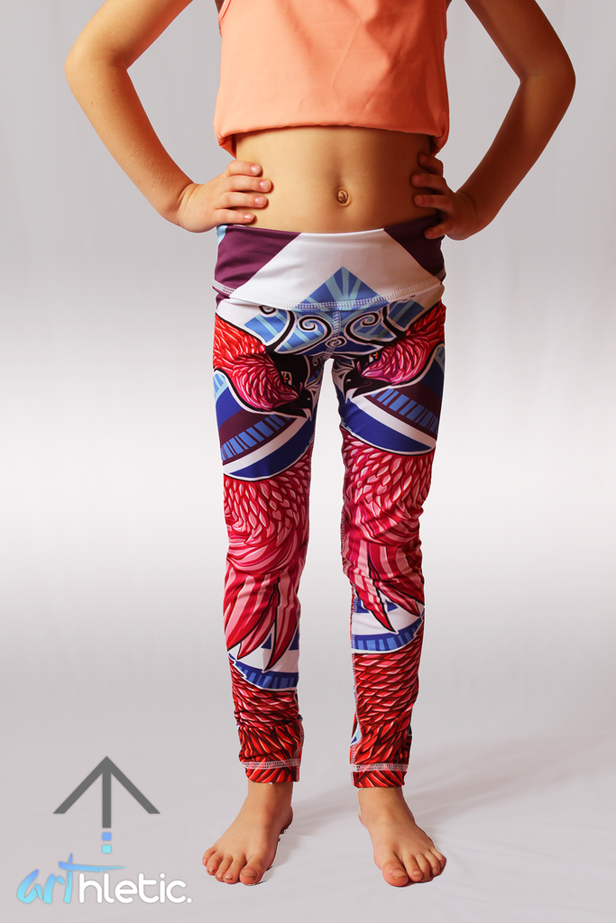 Phoenix Mini Leggings - Arthletic Wear - 2