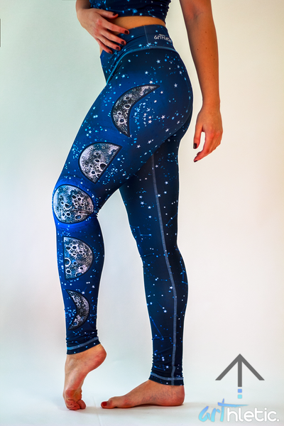 Night Sky Leggings - Arthletic Wear - 1