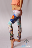Calla Lily mini leggings - Arthletic Wear - 3