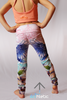Calla Lily mini leggings - Arthletic Wear - 2