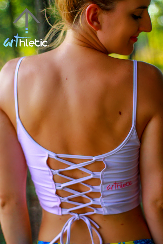 Cotton Candy Top - Arthletic Wear