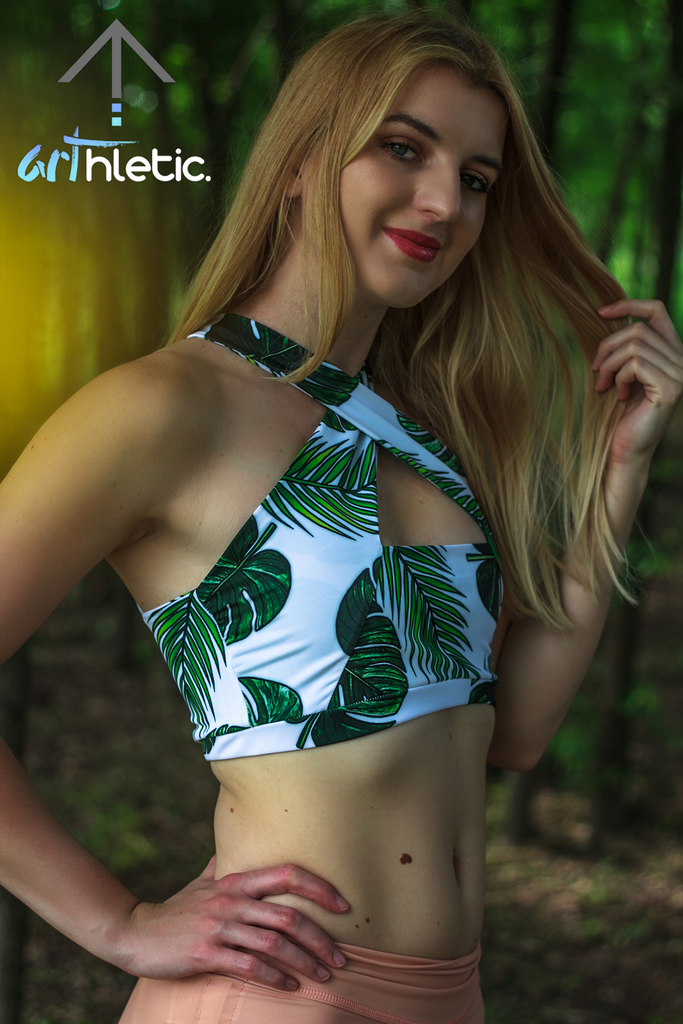 Tropical Goddess Top by arthletic-wear.myshopify.com I Sports Bras I