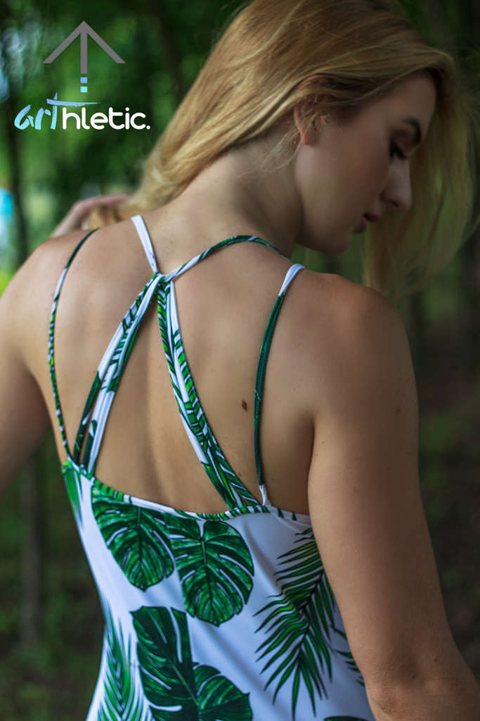 Tropical Goddess Catsuit by arthletic-wear.myshopify.com I Rompers I