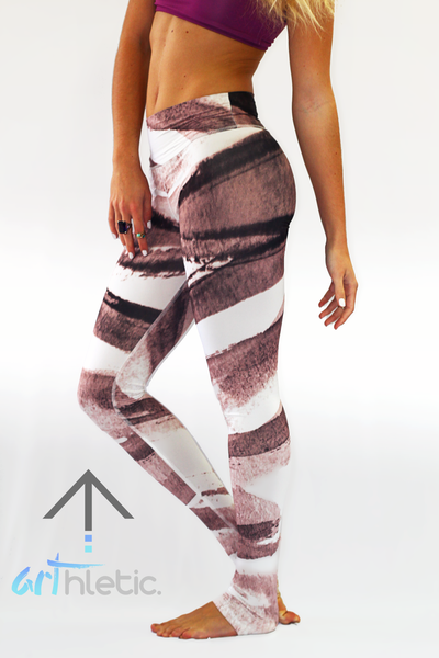 Ink Splash Leggings - Arthletic Wear - 1