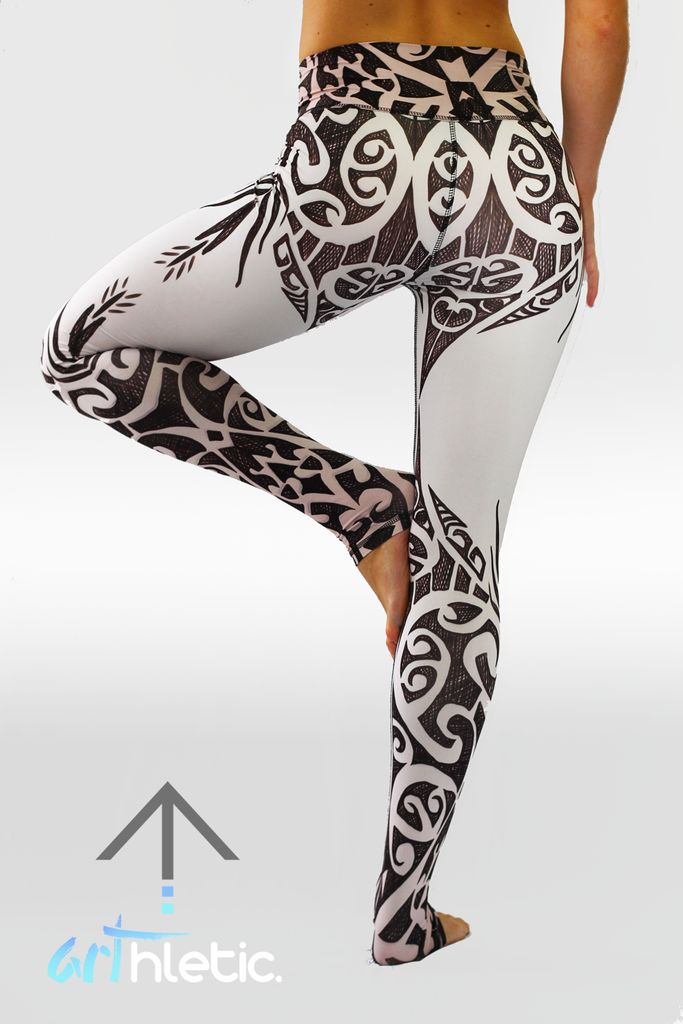 Tattoo Leggings - Arthletic Wear - 1