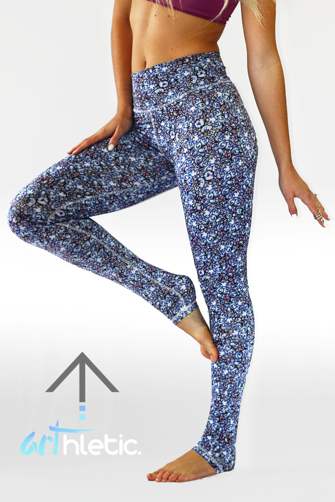 Frost Yourself Leggings (FINAL SALE) - Arthletic Wear