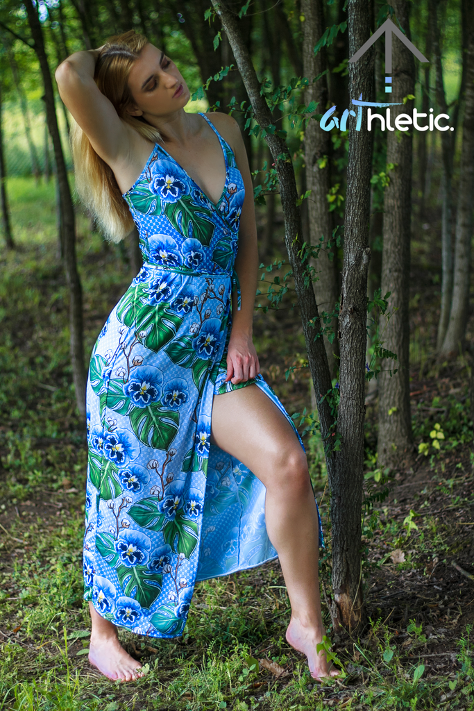 Blue Tansy Dress by arthletic-wear.myshopify.com I Dresses I