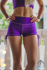 Talia Shorts- Violet Purple
