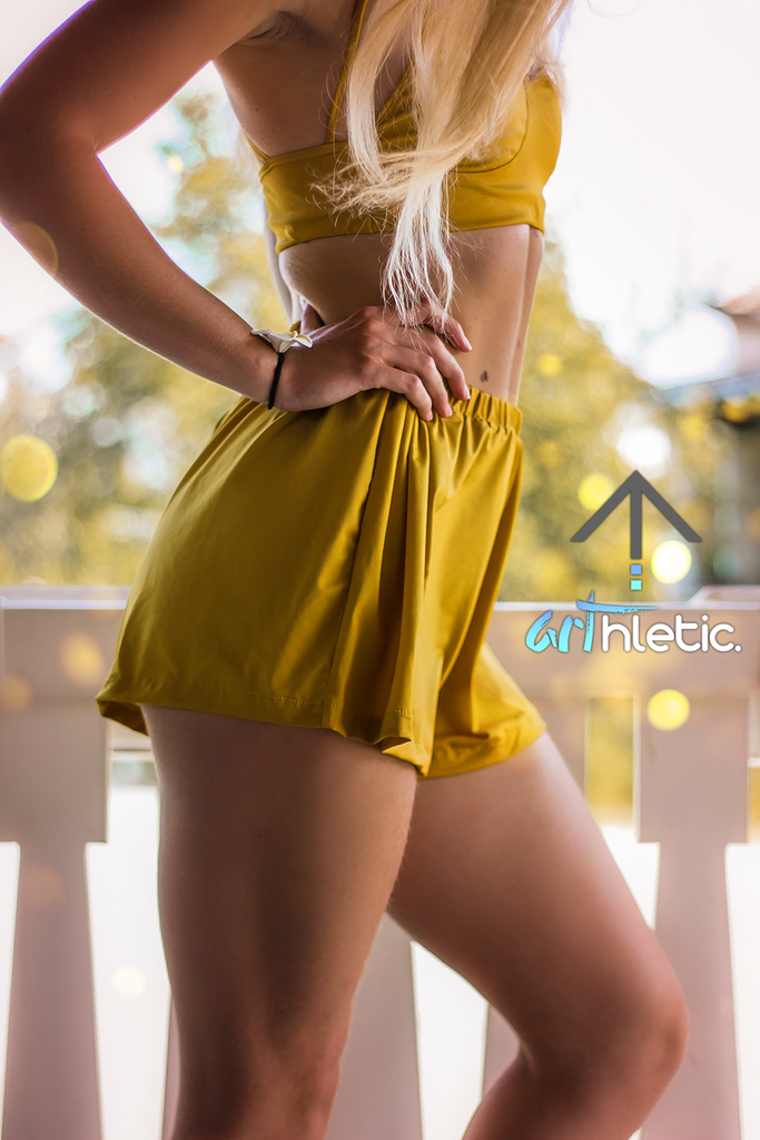 Marigold Shorts by arthletic-wear.myshopify.com I Shorts I