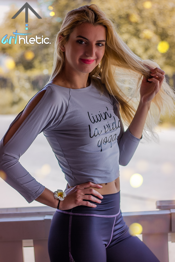 Livin' La Vida Yoga Crop Top by arthletic-wear.myshopify.com I Sports Bras I