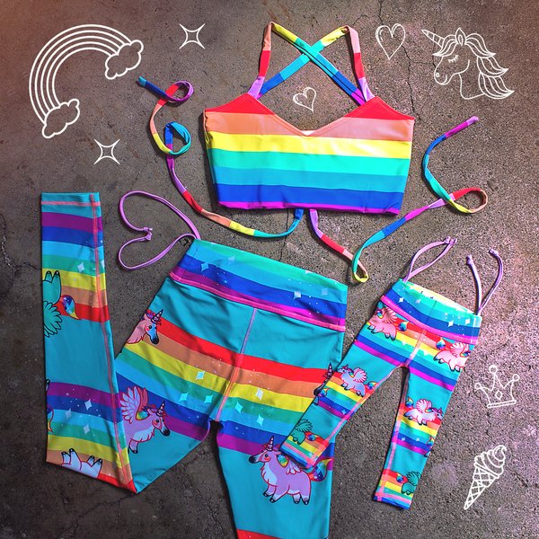 Rainbows and Unicorns Matchy-Matchy Bundle