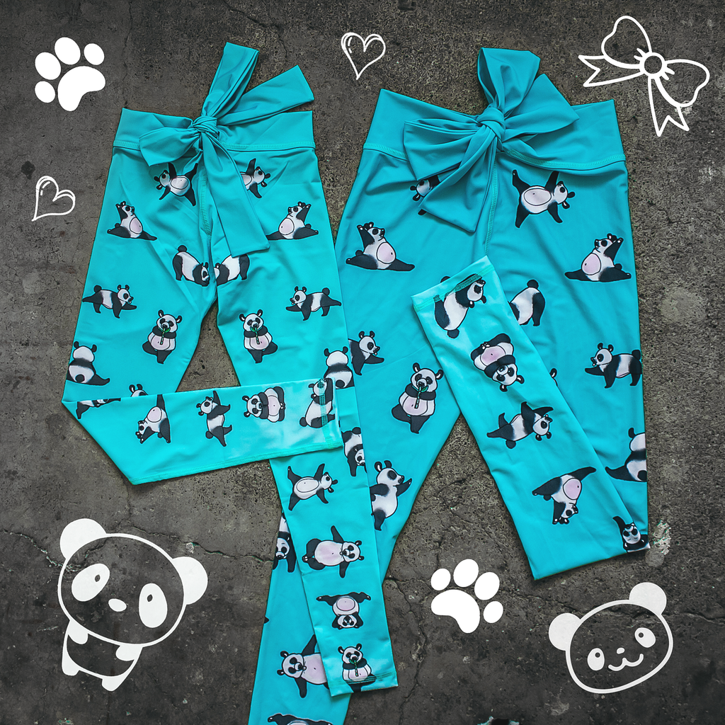 Blue Panda Matchy-Matchy Bundle - Arthletic Wear