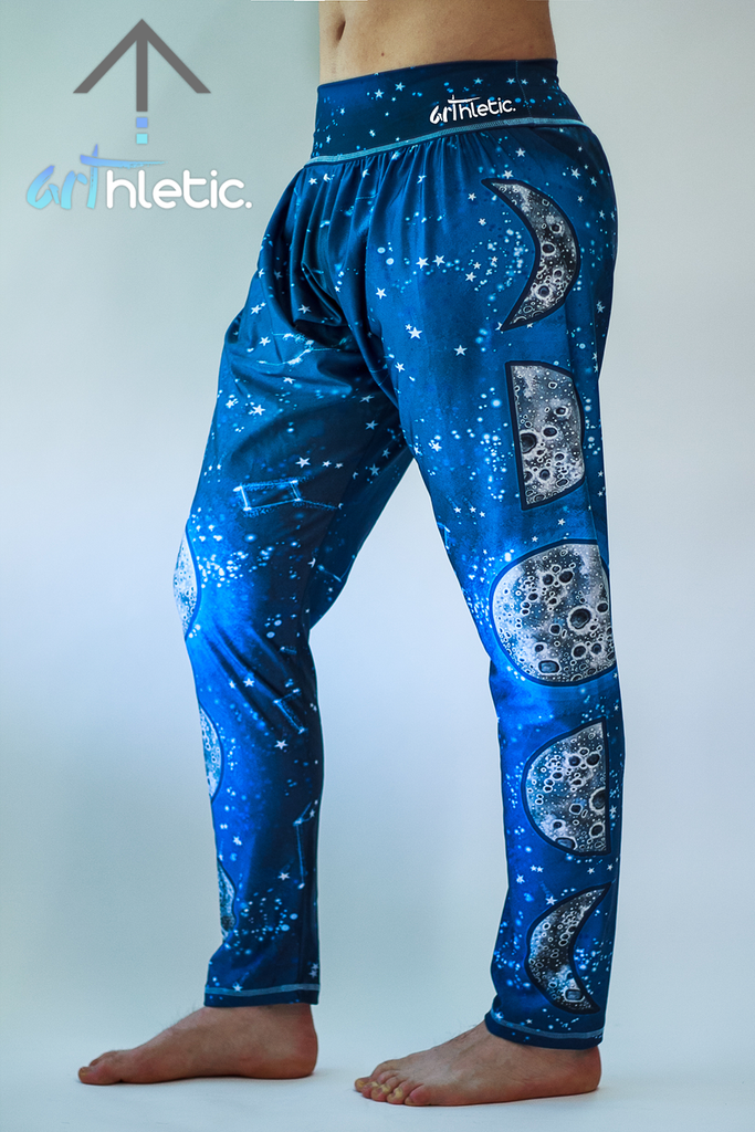 Night Sky Men's Harem Pants - Arthletic Wear