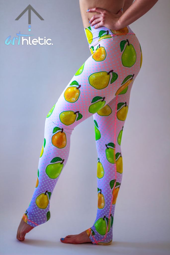 Pear Tart Leggings by arthletic-wear.myshopify.com I Leggings I