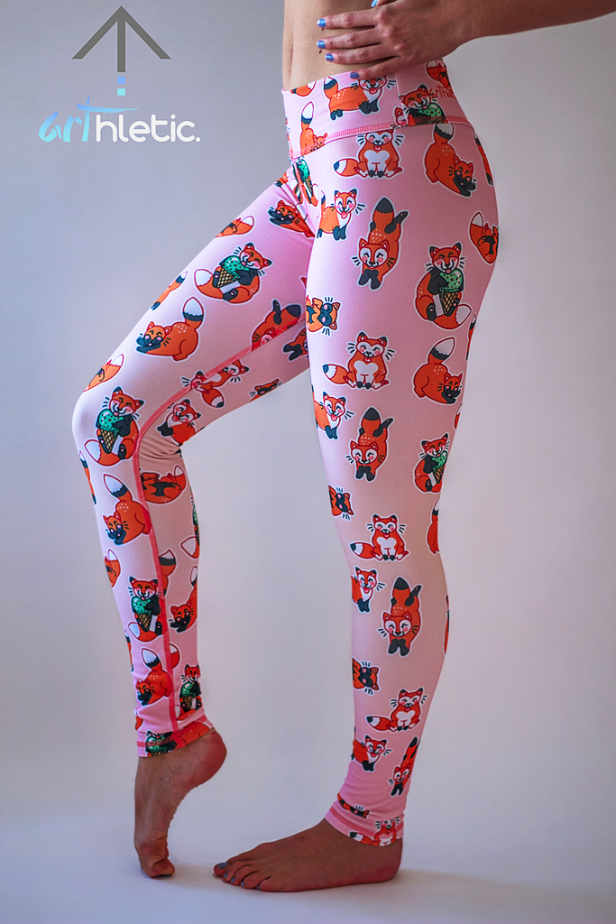 Foxy Leggings by arthletic-wear.myshopify.com I Leggings I