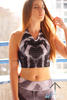 Intoxicated Crop Top - Arthletic Wear - 1