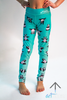 Blue Panda Mini Leggings