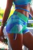 Azure Splash shorts - Arthletic Wear - 2